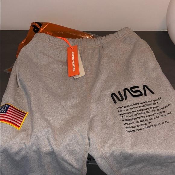 481307f95b Heron Preston x NASA sweatpants